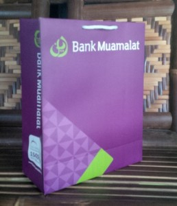 paper bag bank muamalat